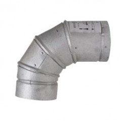 Adjustable Elbow 0-90 degree - 150mm