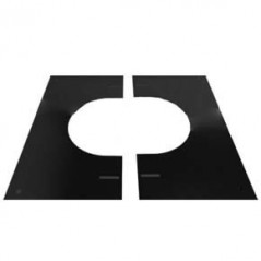 Finishing Plate 0°-30° dia 125mm - Black