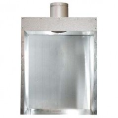 Gas Flue Box - Freestanding