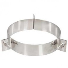 Guy Wire Bracket dia 125mm Silver