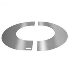 Round Finishing Plate 90° dia 125mm Stainless Steel